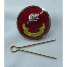 ABM Enamel Hat Badge