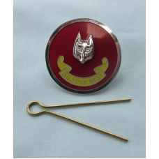 ACM Enamel Hat Badge