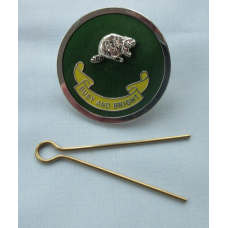 BM Enamel Hat Badge